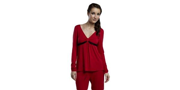 Dámské červené spací triko Les Affaires