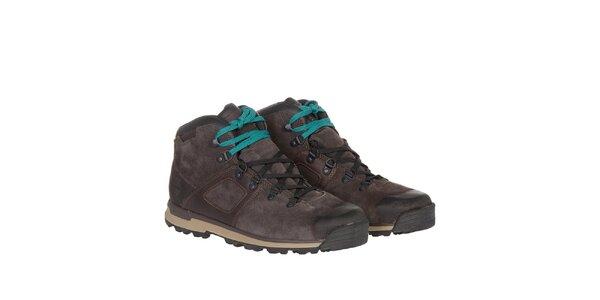 Pánské tmavě hnědé voděodolné boty Timberland