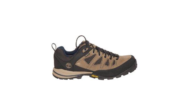Pánské béžovo-černé nízké trekové boty Timberland