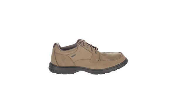 Pánské světle hnědé kožené boty Timberland
