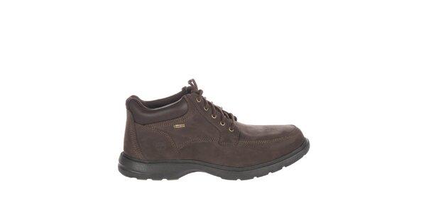 Pánské čokoládově hnědé volnočasové boty Timberland