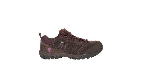 Dámské hnědé trekové boty Timberland