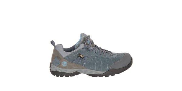 Dámské modrošedé trekové boty Timberland