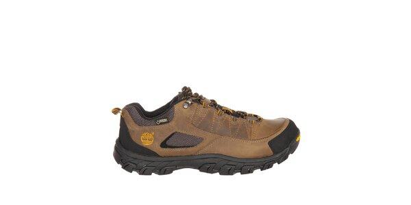 Pánské světle hnědé nízké trekové boty Timberland