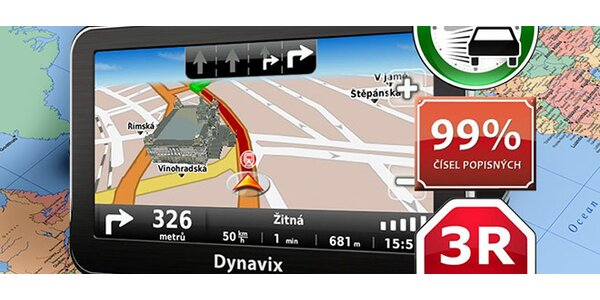 Navigace Dynavix 10 Nano Evropa 3R