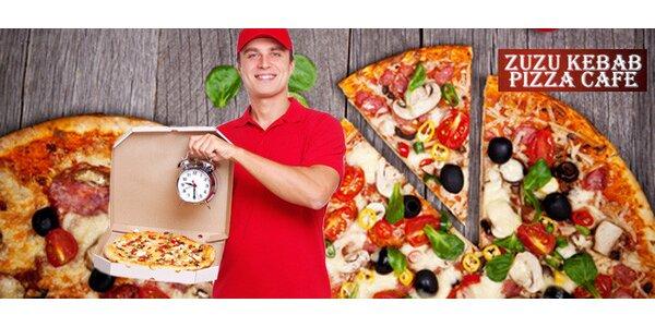 Dvě výtečné pizzy dle výběru s možností rozvozu po celém Liberci