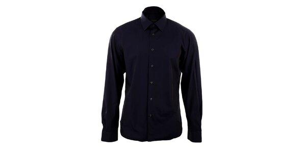 Pánská tmavě fialová košile Calvin Klein