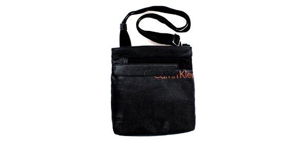 Panská malá černá taška přes rameno Calvin Klein