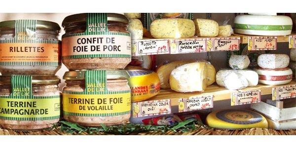 3 delikatesní francouzské paštiky