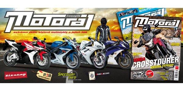 Roční předplatné časopisu Motoráj + katalog motorek