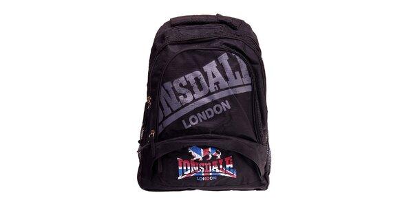 Černý batoh Lonsdale