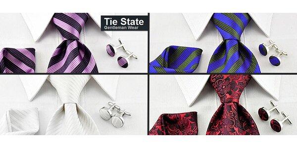 Luxusní kravatový set