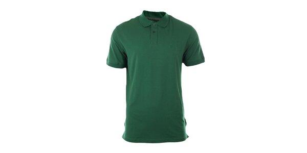 Pánské smaragdové polo triko Pietro Filipi