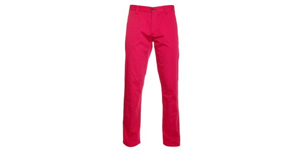 Pánské růžové chino kalhoty Pietro Filipi