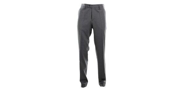 Pánské šedé oblekové kalhoty Pietro Filipi