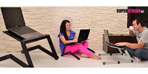 Skládací stojan pod notebook nejen do postele