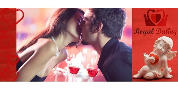 295 Kč za Rychlo rande s agenturou Royal Dating. SLEVA 50%.