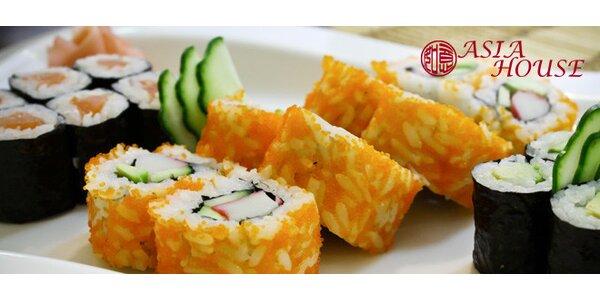 Bohaté sushi menu pro dva