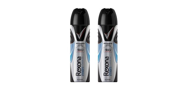 2xRexona Men deo spray Invisible Ice 150ml