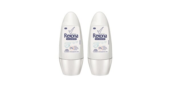 2xRexona deo roll-on Pure Protect 50ml