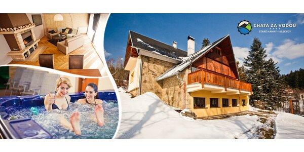 Luxusní chata s wellness v Beskydech až pro 15 osob