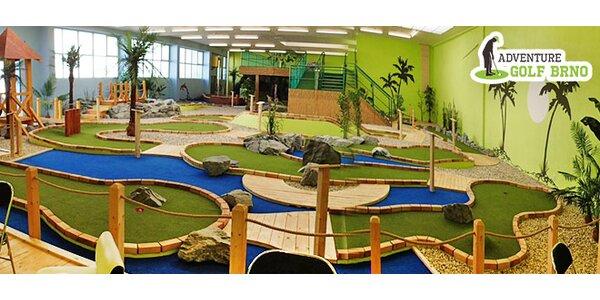 1,5 hodiny zábavy na Adventure golfu pro 1 osobu