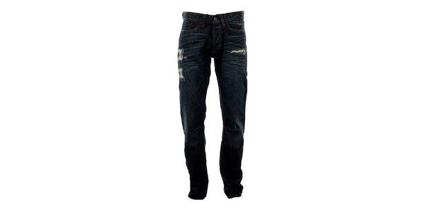 Pánské modré džíny s prodřeninami Big Star