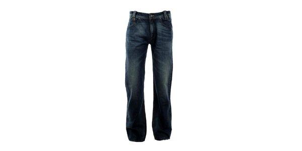 Pánské modré džíny s šisováním Big Star