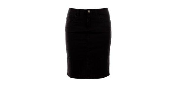 Dámská tmavě hnědá džínová sukně Big Star