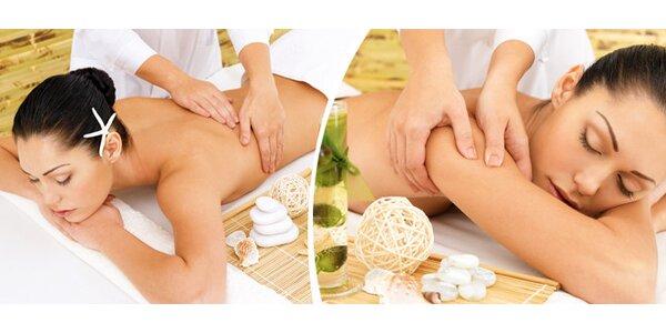 Relaxační, Tibetská nebo Breussova masáž - ochutnejte masáže od Elišky