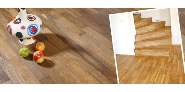 Kvalitní dřevěná plovoucí podlaha - nové druhy
