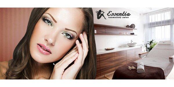 Luxusní kosmetické ošetření dle výběru včetně aroma koupele