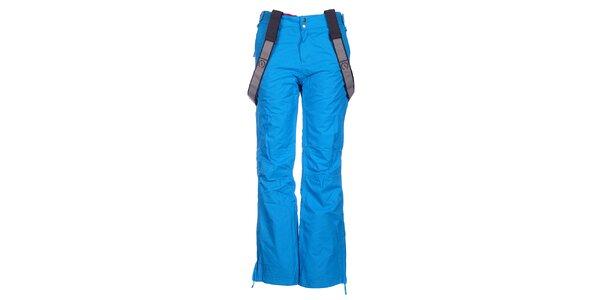 Dámské tyrkysově modré lyžařské kalhoty Fundango s membránou