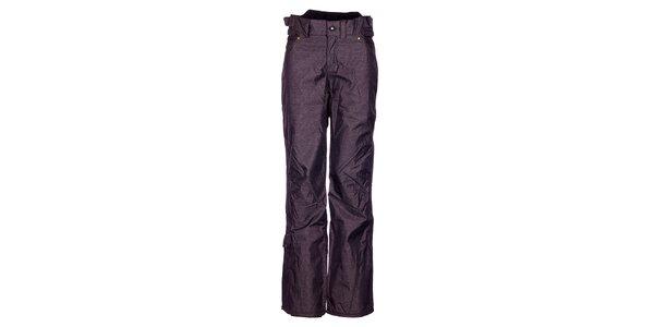 Dámské tmavě šedé melírované sportovní kalhoty Fundango s membránou