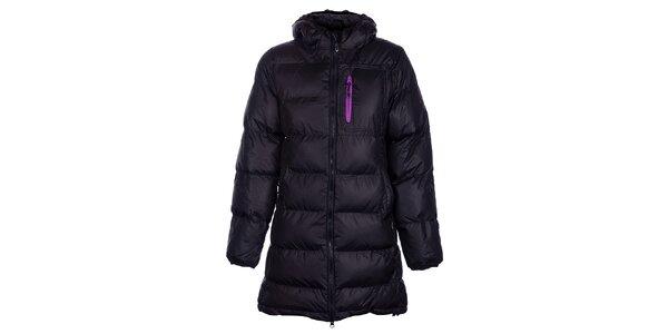 Dámský černý zimní prošívaný kabátek Fundango