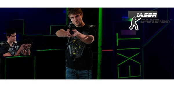 Napínavá hra Laser Game až pro 10 osob