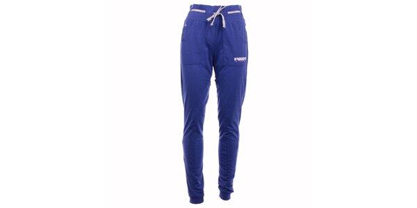 Dámské modré sportovní kalhoty Freddy