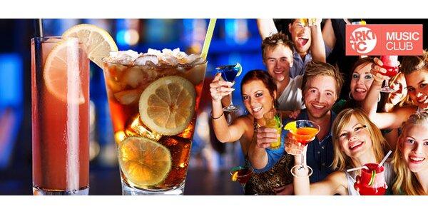 TŘI míchané nápoje. Cuba libre i Sex on the beach