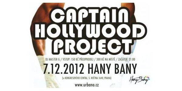Největší klubová 90s párty u nás - Captain Hollywood Project (live)