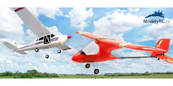 RC modely letadel na venkovní létání