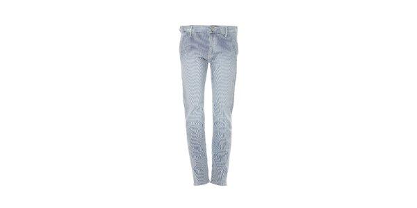 Dámské skinny džíny značky Gas v námořnickém stylu