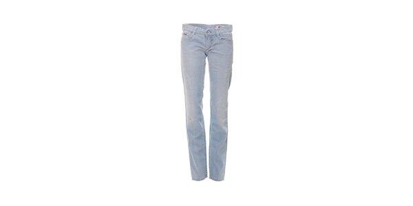 Dámské skinny džíny značky Gas ve světle modré