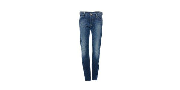Dámské skinny džíny značky Gas v modré barvě