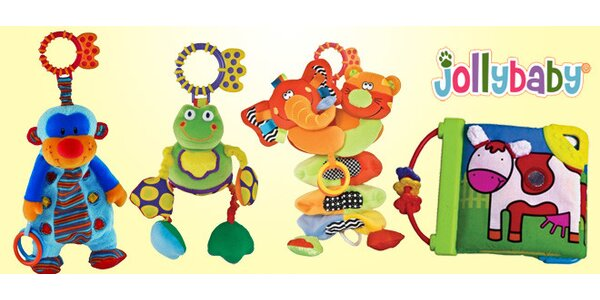 Interaktivní hračky pro rozvoj schopností novorozenců