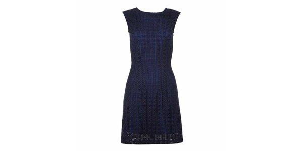Dámské tmavě modré šaty bez rukávů Yumi