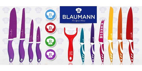 Ďábelsky ostré barevné nože Blaumann