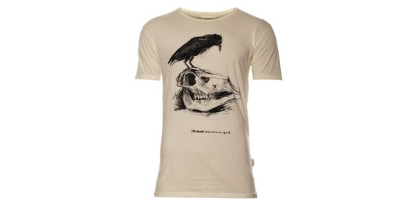 23be79815fa Pánské tričko Eleven Paris s lebkou a havranem