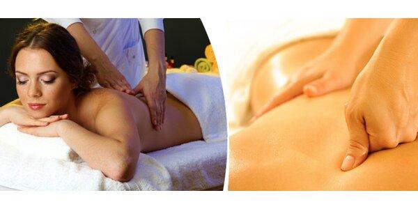 Hloubková terapeutická masáž s odstraněním spoušťových bodů