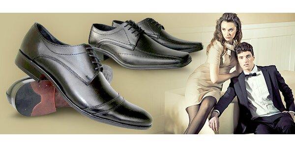 Pánská celokožená společenská obuv