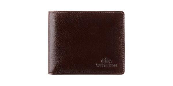 Pánská hnědá peněženka s vyjímatelnou kapsou Wittchen
